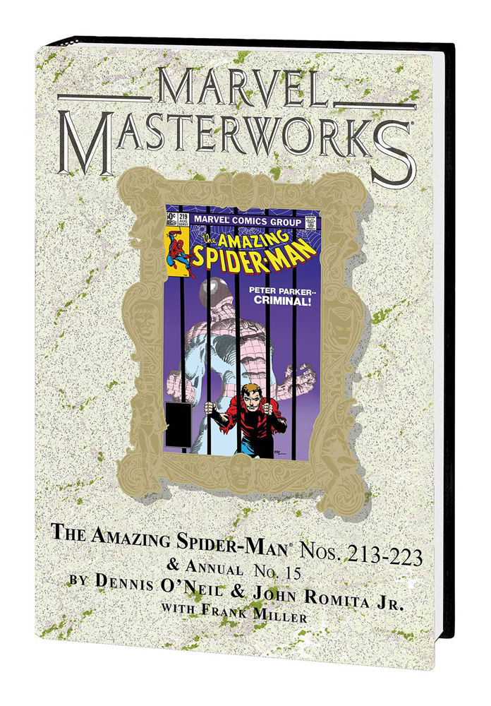 Image: Marvel Masterworks Vol. 283: Amazing Spider-Man Nos. 213-223 & Annual No. 15 HC  - Marvel Comics