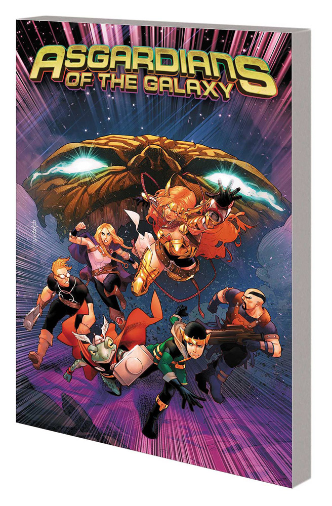 Image: Asgardians of the Galaxy Vol. 02: War of the Realms SC  - Marvel Comics