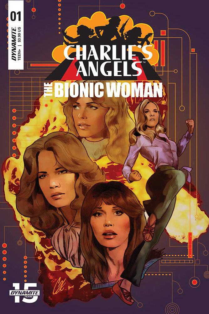 Image: Charlie's Angels vs. the Bionic Woman #1 (cover A - Staggs) - Dynamite