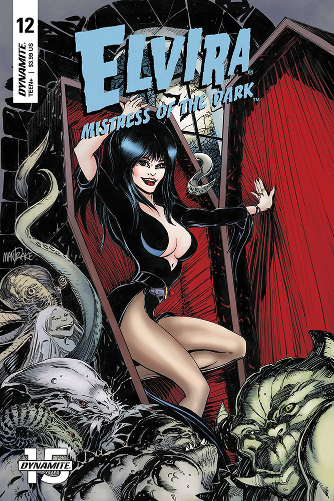 Image: Elvira: Mistress of the Dark #12 (cover A - Mandrake) - Dynamite