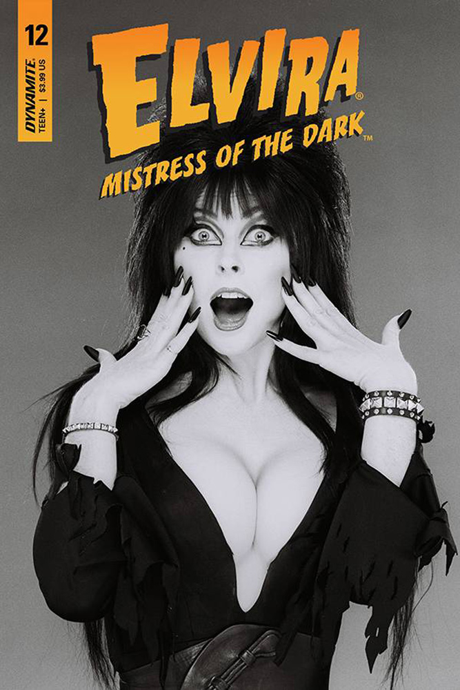Image: Elvira: Mistress of the Dark #12 (cover D - Photo)  [2019] - Dynamite