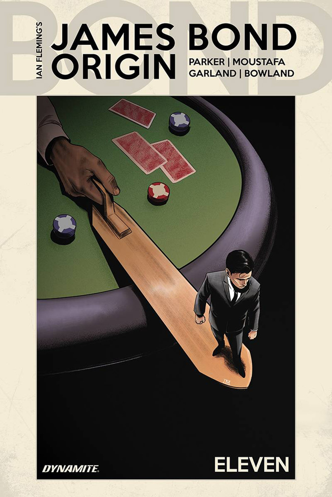 Image: James Bond: Origin #11 (cover D - Moustafa)  [2019] - Dynamite