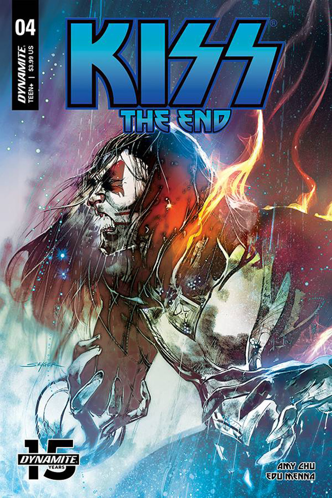 Image: Kiss: The End #4 (cover A - Sayger) - Dynamite