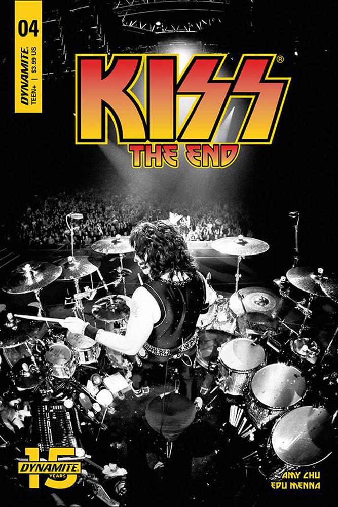 Image: Kiss: The End #4 (cover D - Photo) - Dynamite