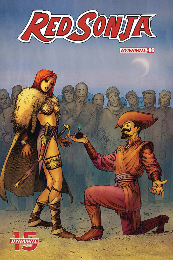 Image: Red Sonja #6 (cover D - Pace) - Dynamite