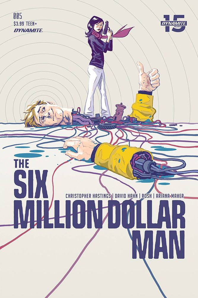 Image: Six Million Dollar Man #5 (cover A - Walsh) - Dynamite