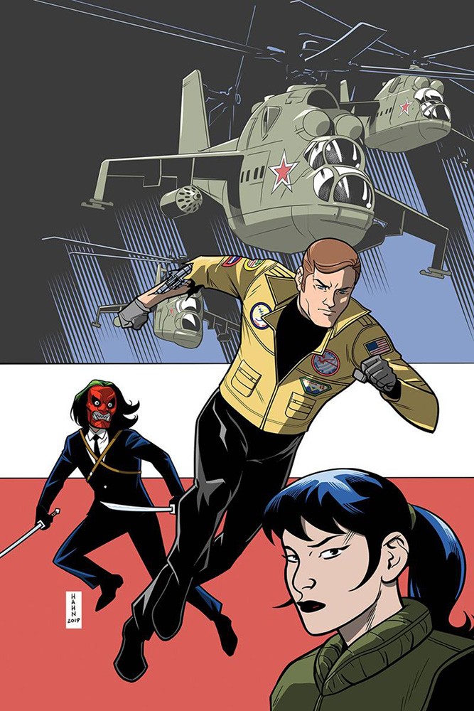 Image: Six Million Dollar Man #5 (incentive cover - Hahn virgin) (10-copy)  [2019] - Dynamite