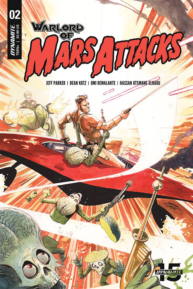 Image: Warlord of Mars Attacks #2 (cover B - Case) - Dynamite