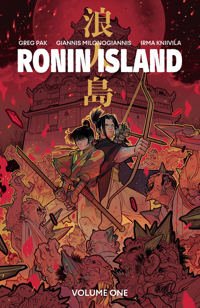 Image: Ronin Island Vol. 01 Discover Now Edition SC  - Boom! Studios