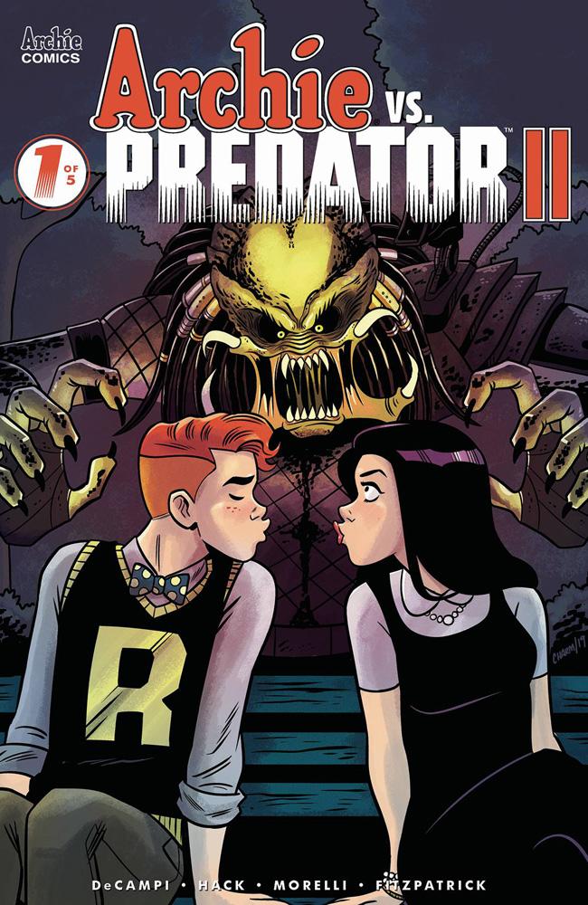 Archie vs. Predator II #1 Derek Charm cover