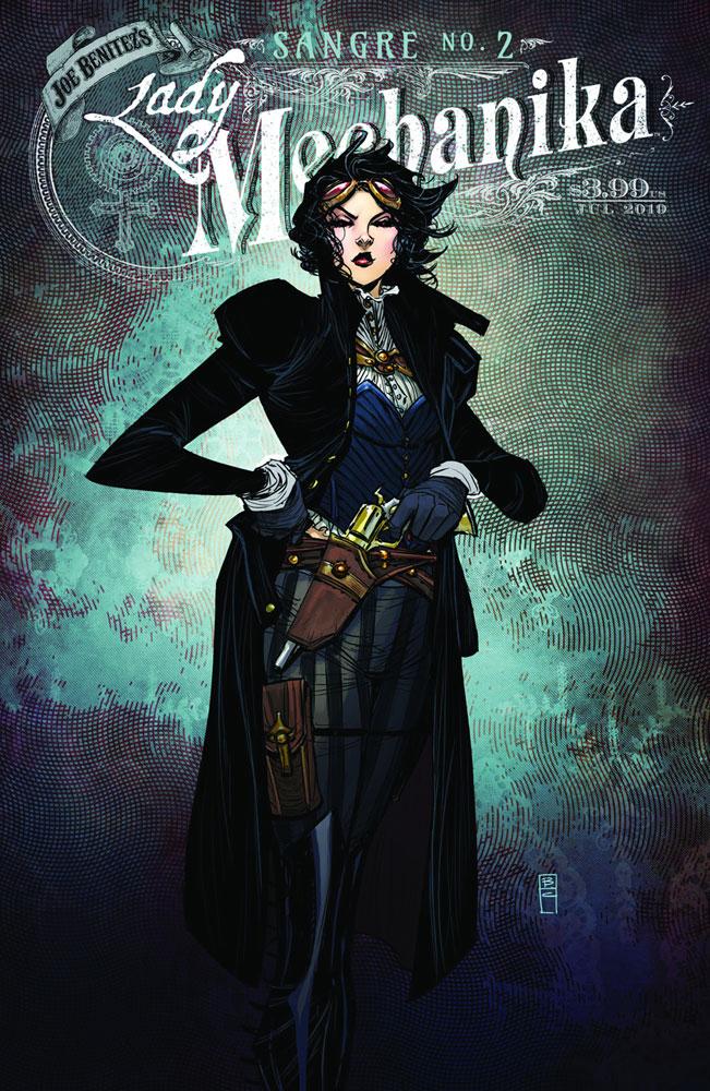 Lady Mechanika: Sangre #2 - Benitez Productions