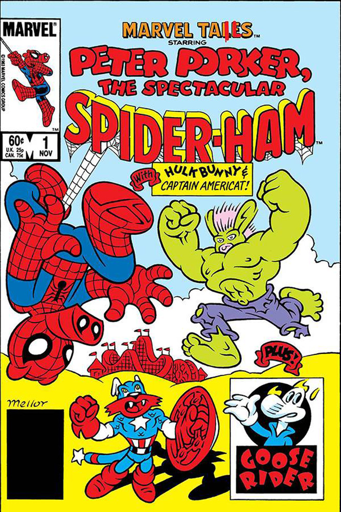 Image: True Believers: Tails Spiderham #1 (DFE signed - Defalco) - Dynamic Forces