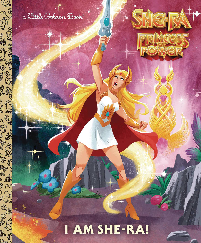 Image: She-Ra Princess of Power Little Golden Book: I Am She-Ra!  - Golden Books