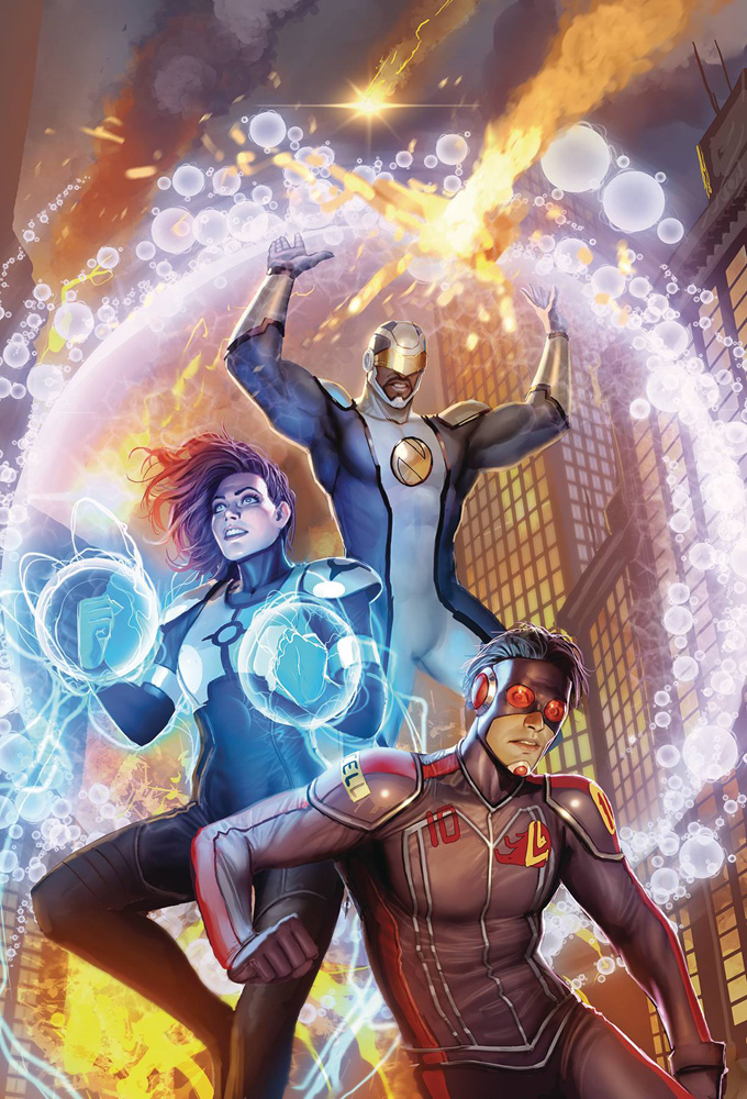 Image: Catalyst Prime: Seven Days #1 - Lion Forge