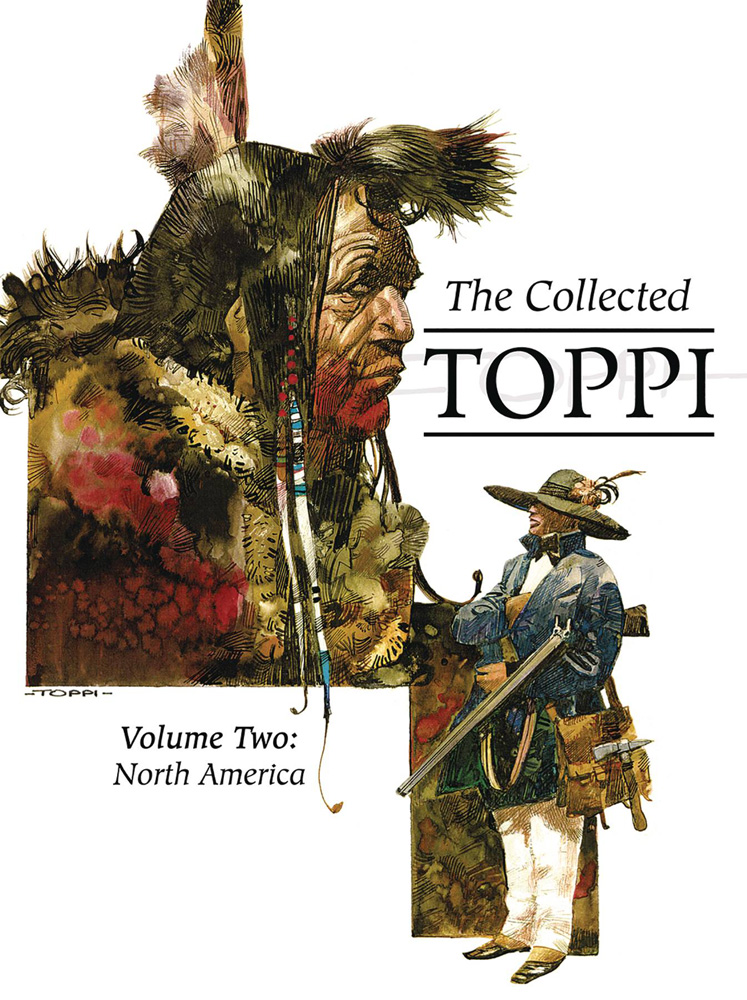 Image: Collected Toppi Vol. 02: North America HC  - Lion Forge