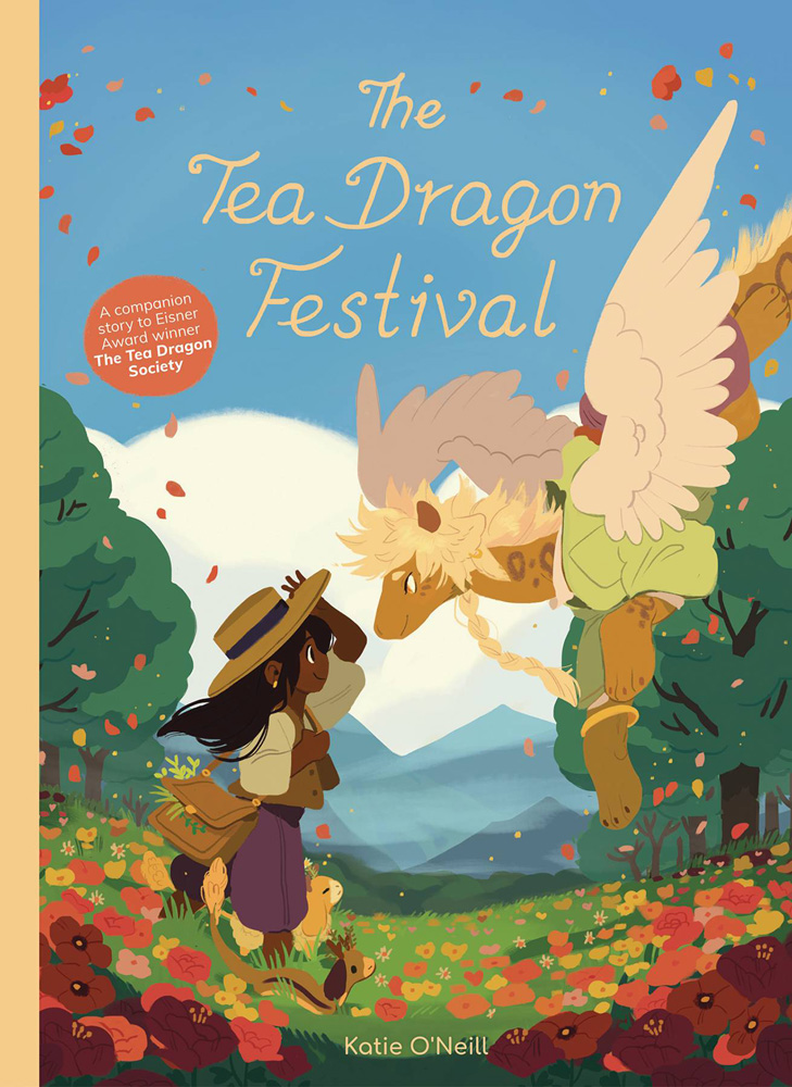 Image: Tea Dragon Festival HC  - Oni Press Inc.