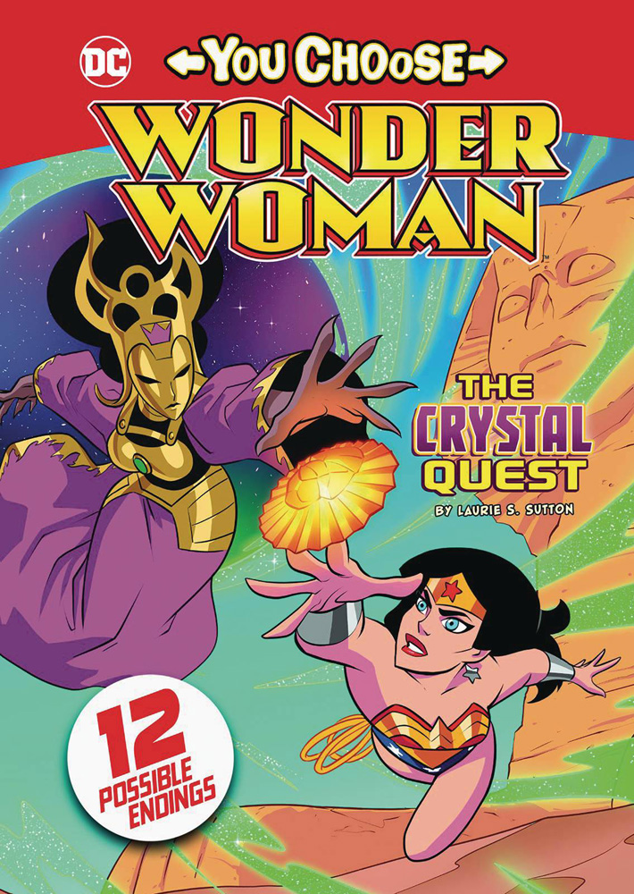 Image: Wonder Woman You Choose: The Crystal Quest SC  - Stone Arch Books