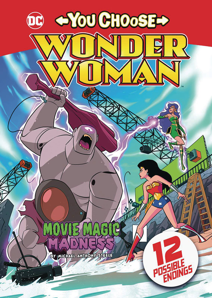 Image: Wonder Woman You Choose: Movie Magic Madness SC  - Stone Arch Books