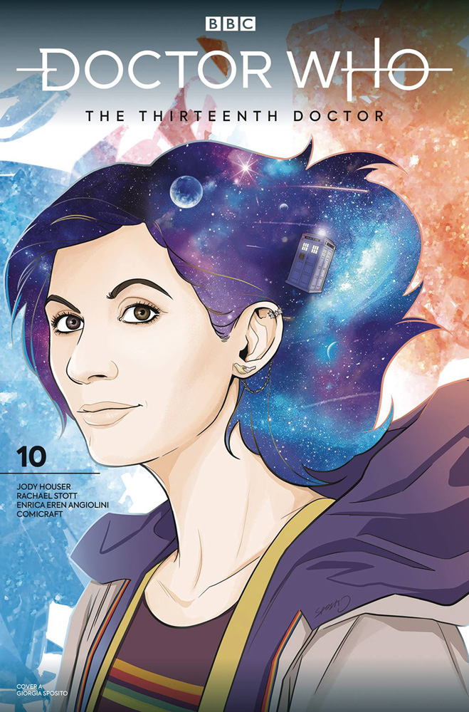 Image: Doctor Who: The Thirteenth Doctor #10 (cover A) - Titan Comics