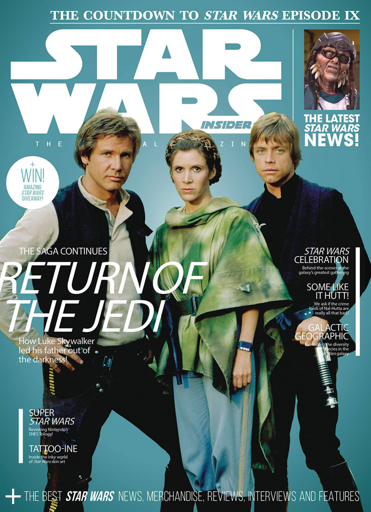 Image: Star Wars Insider #191 (newstand cover) - Titan Comics