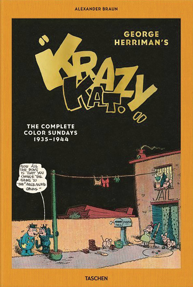 George Herriman's Krazy Kat: The Complete Color Sundays 1935-1944