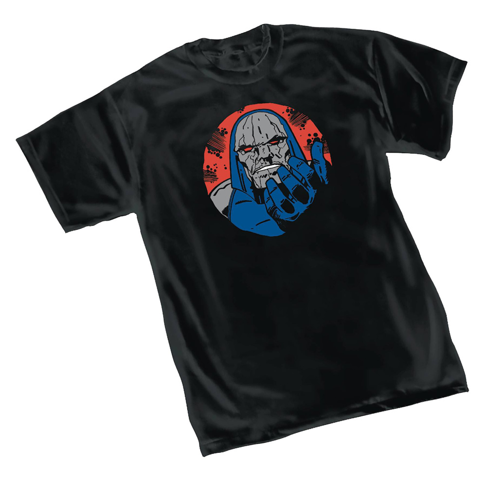 Image: DC Heroes T-Shirt: Darkseid Wants You Symbol  (M) - Graphitti Designs
