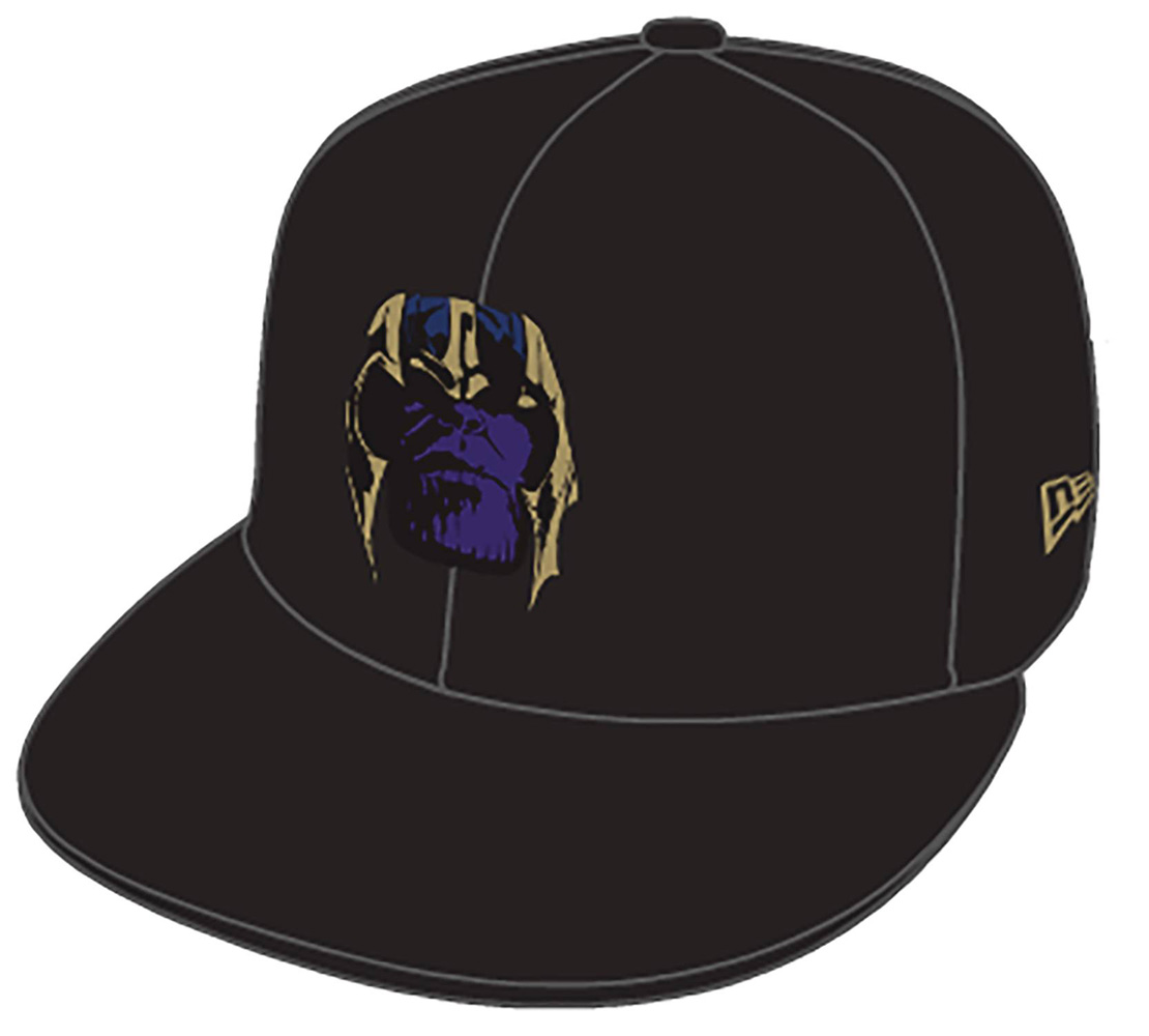 Image: Avengers Endgame Snap Back Cap: Thanos  - New Era Cap Co