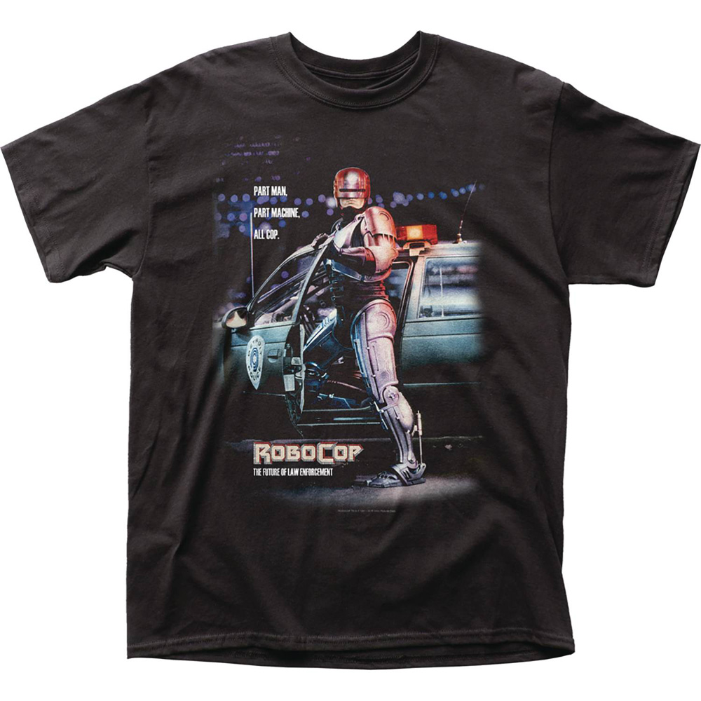Image: Robocop T-Shirt: Part Man, All Cop  (L) - Impact Merchandising