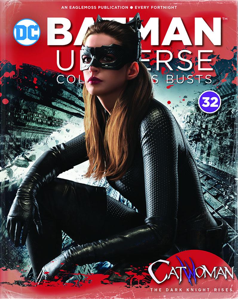 Batman Universe Collector's Bust: The Dark Knight Rises - Catwoman #32 - Eaglemoss Publications Ltd