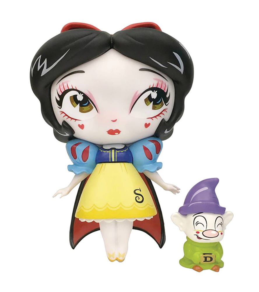 Image: Miss Mindy Vinyl Figure: Snow White with Mini Dopey  - Enesco Corporation