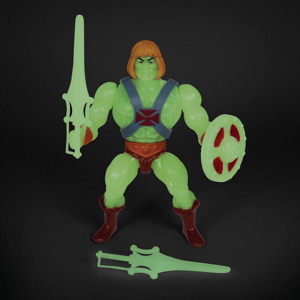 Masters of the Universe Vintage Wave 4 Action Figure: He-Man  (GitD) (5.5-inch) - Super 7