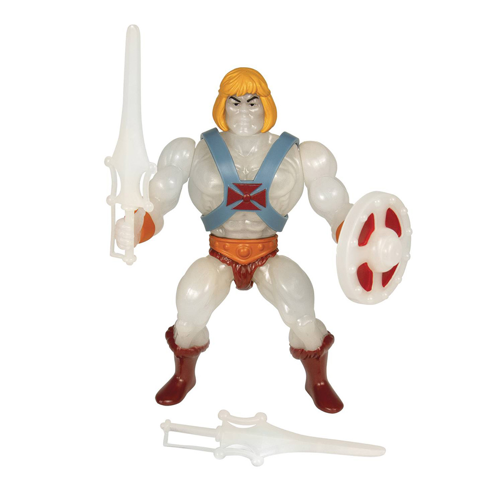 Image: Masters of the Universe Vintage Wave 4 Action Figure: He-Man  (GitD) (5.5-inch) - Super 7