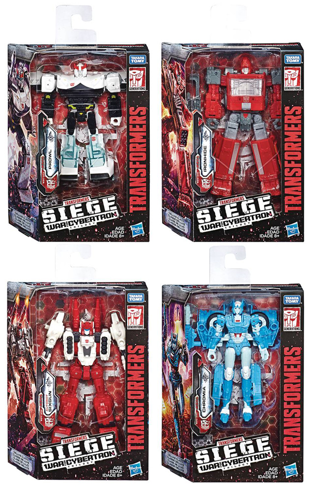 Image: Transformers Gen WFC Deluxe Action Figure Assortment 201902  - Hasbro Toy Group