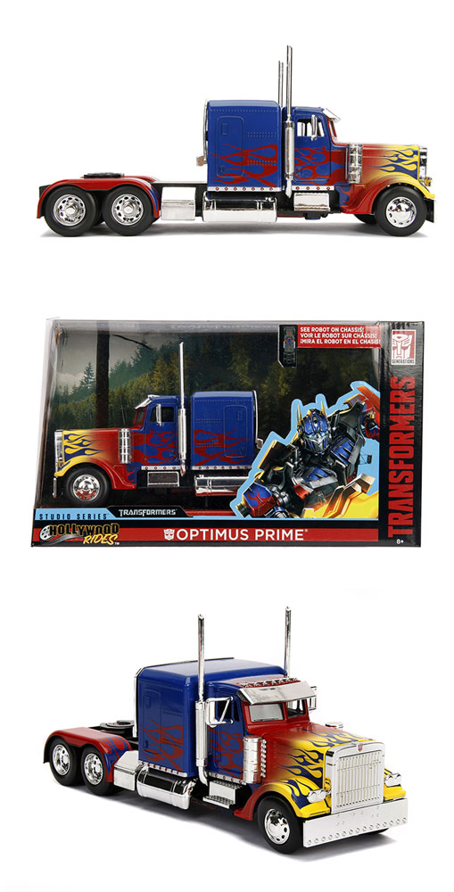 Transformers T1 Optimus Prime Die-Cast Truck  (1/24 scale) - Jada Toys, Inc
