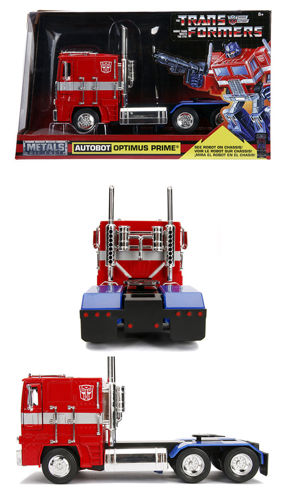 Transformers G1 Optimus Prime Die-Cast Truck  (1/24 scale) - Jada Toys, Inc