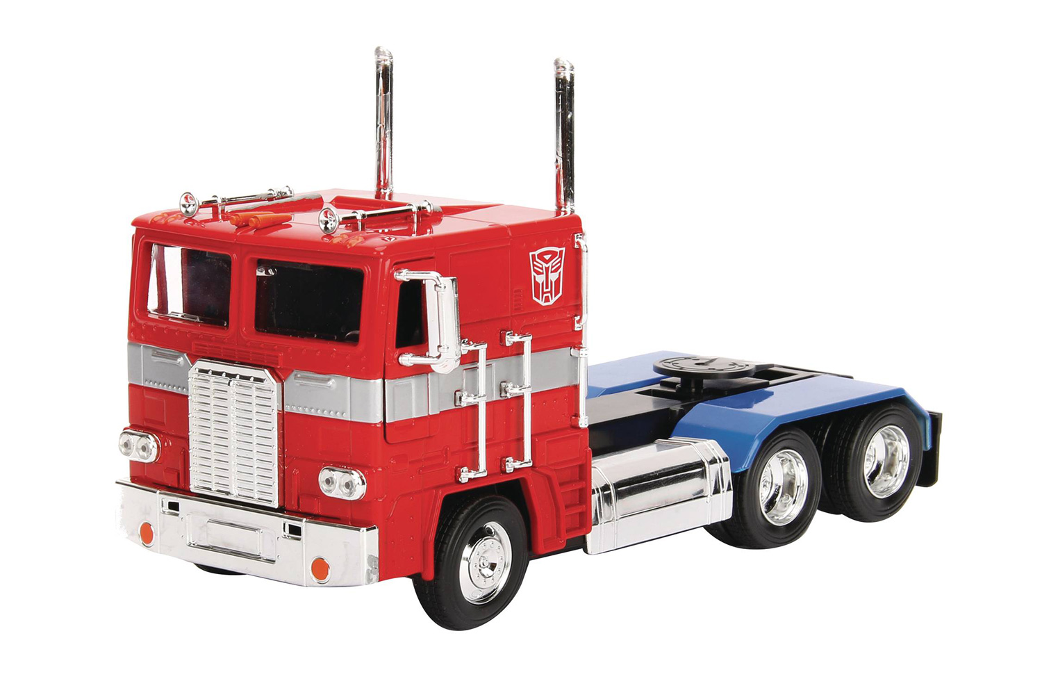 Image: Transformers G1 Optimus Prime Die-Cast Truck  (1/24 scale) - Jada Toys, Inc