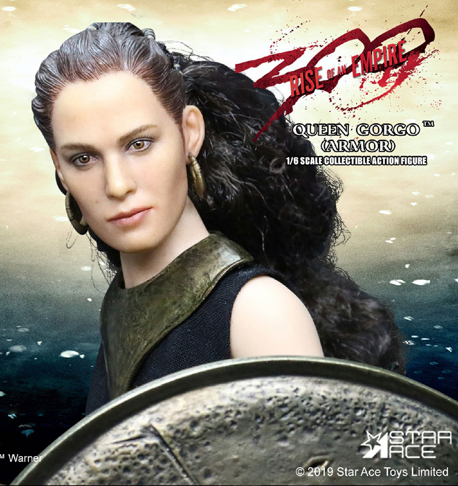 300 Action Figure: Queen Gorgo  (limited version) (1/6 scale) - Star Ace Toys Limited