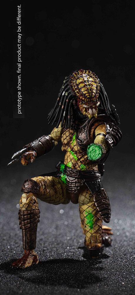 Predator 2 Exquisite Mini-Figure: Battle Damage City Hunter  - Hiya Toys