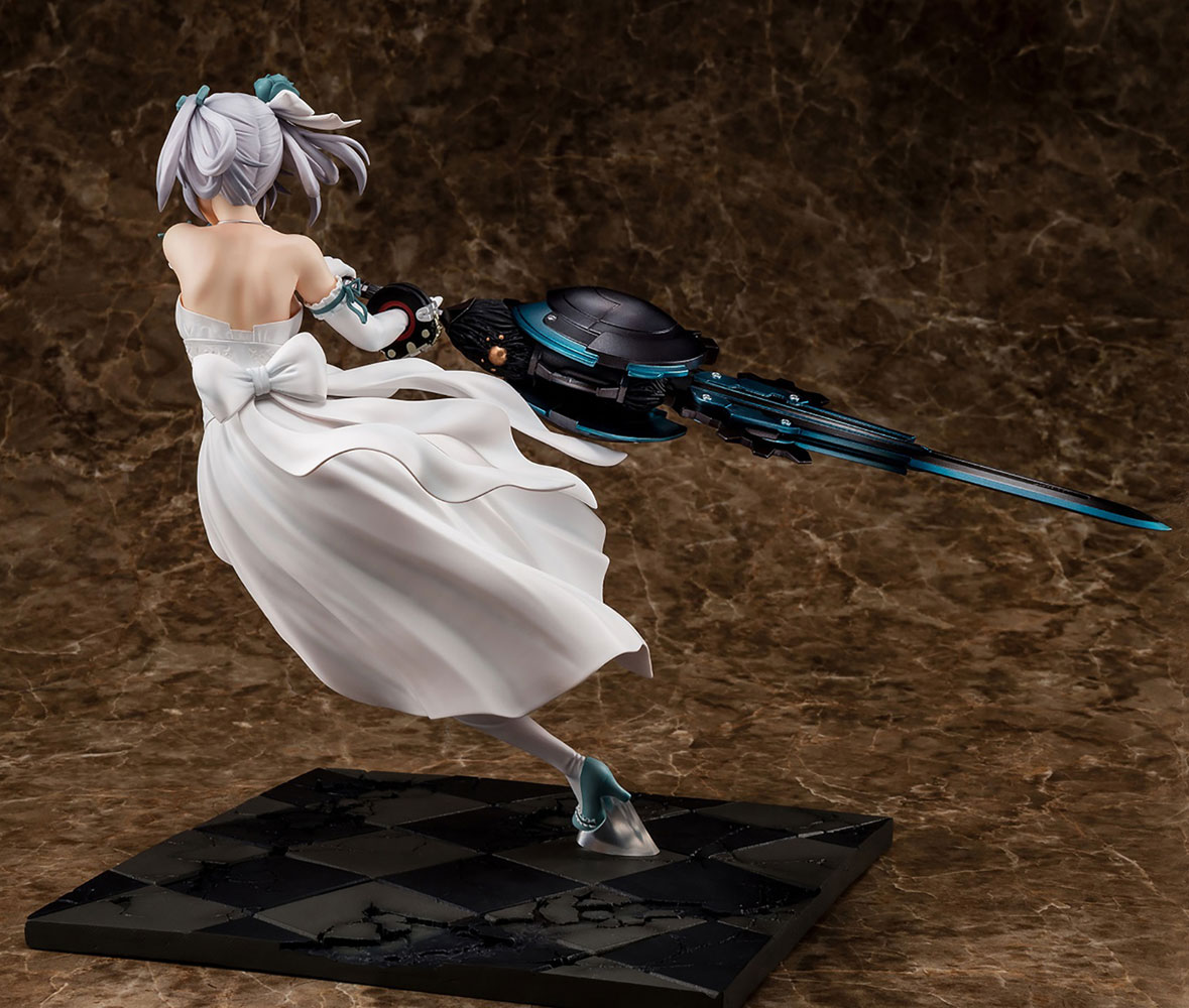 God Eater 2 PVC Figure: Ciel Alenson  (Pure White Anniversary Dress) (1/7 scale) - Sol International