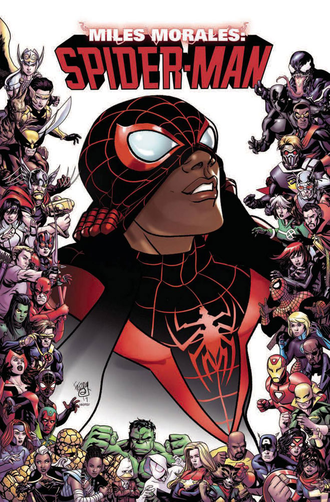 Image: Miles Morales: Spider-Man #9 (variant 80th Anniversary cover - Ferry)  [2019] - Marvel Comics