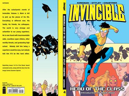 Invincible Vol. 04: Head of the Class SC  (new printing) - Image Comics