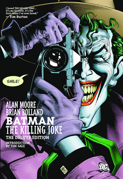 Image: Batman: The Killing Joke Deluxe Edition HC  - DC Comics