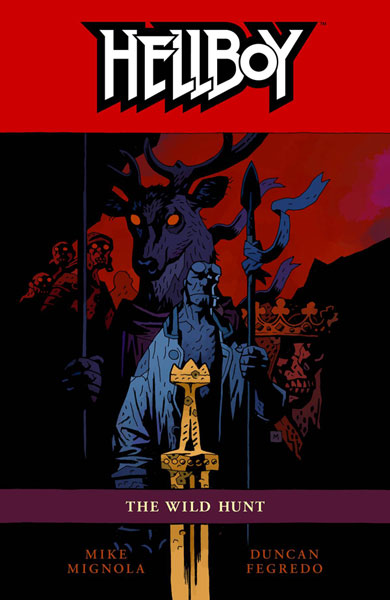Image: Hellboy Vol. 09: Wild Hunt SC  - Dark Horse