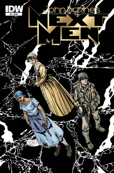 Image: John Byrne's Next Men #2 - IDW Publishing