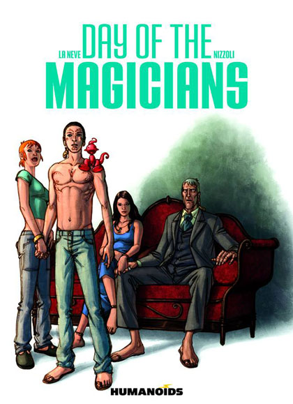Image: Day of the Magicians SC  - Humanoids Inc
