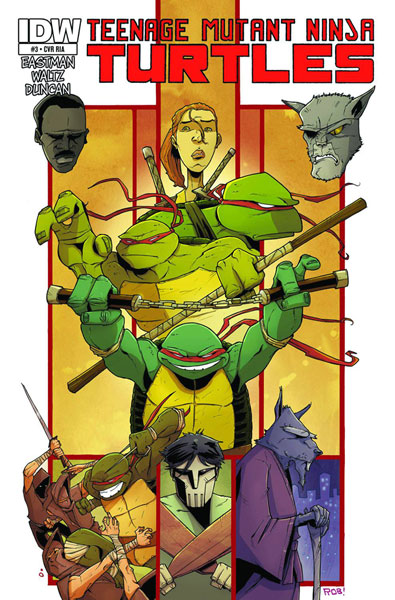 Image: Teenage Mutant Ninja Turtles #6 - IDW Publishing