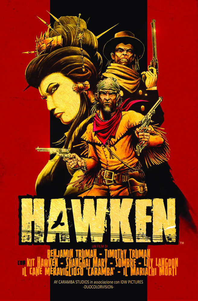 Image: Hawken #3 (10-copy incentive cover) - IDW Publishing