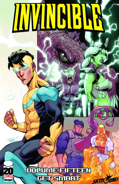 Image: Invincible Vol. 15: Get Smart SC  - Image Comics