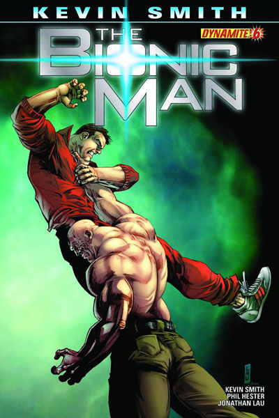 Image: Bionic Man [Kevin Smith] #6 (15-copy Ross virgin incentive cover) - D. E./Dynamite Entertainment
