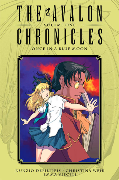 Image: Avalon Chronicles Vol. 01 HC  - Oni Press Inc.